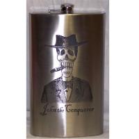 GIANT 64oz Laser Engraved Flask