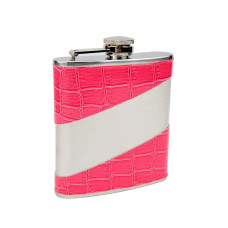 Pink Flask with Personalization Area