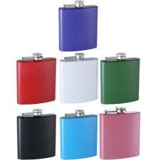6oz Glitter-Paint Flasks, Assorted Colors