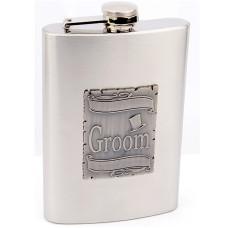 Wedding Flask for Groom