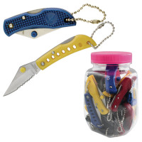 36 Cheap Assorted Knives in Display Jar