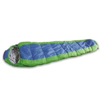Sleeping Bag Available in Blue/Green or Red/Gray