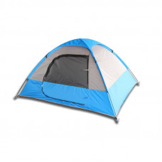 Blue/Gray or Red/Gray 2 Person Camping Tent