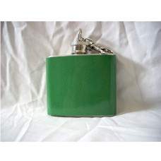 Green 2oz Keychain Flasks