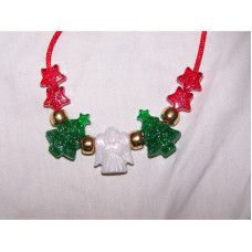 Handmade Christmas Necklace