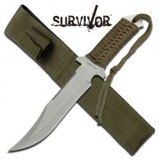 Survivor Fixed Blade Hunting Knife