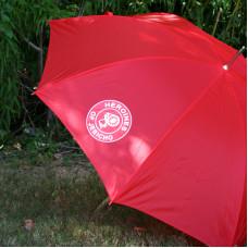 Custom Logo Red 48 Inch Umbrella