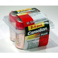 D Alkaline Batteries, 4 Pack