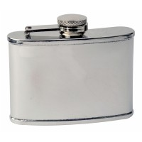 3oz Mirror Polished Stainless Steel Hip Flask