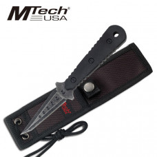 Fixed Blade Boot Knife with Nylon Sheath