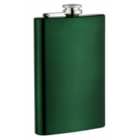 Neon Green 8oz Hip Flask