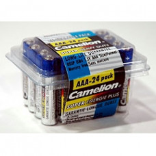 AAA Super Heavy Duty Batteries, 24 Pack