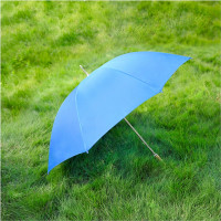 """Barton Outdoors Rain Umbrella - Royal Blue - 60"""" Across - Rip-Resistant Polyester - Manual Open - Light Strong Metal Shaft and Ribs - Resin Handle - Perfect for 2 People"""