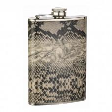 8oz Snake Skin Pattern Flask