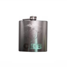 USMC Engraved Hip Flask