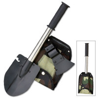 AXE/SAW/SKINNER/SHOVEL SET W/HOLDER
