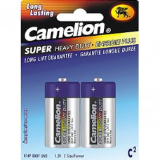 C Super Heavy Duty Batteries, 2 Pack