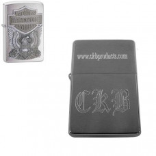 Custom Engraved Harley Davidson Zippo Lighter