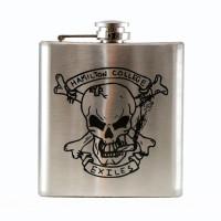 Custom Laser Engraved 6oz Flask