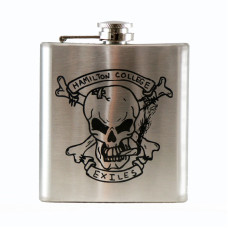 Custom Laser Engraved 6oz Flask