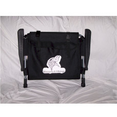 Custom Logo Black Stadium Chair