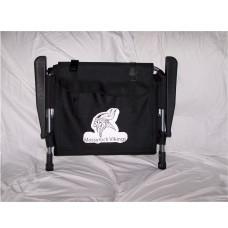 Custom Logo Black Stadium Chair