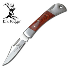Pakkawood Handled LockBack Knife