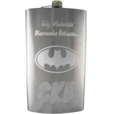 64oz Custom Engraved Giant Flask