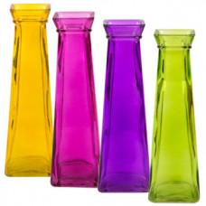 Bright Colored - Square Flower Vase