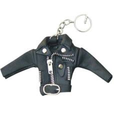 Motorcycle Jacket Keychain