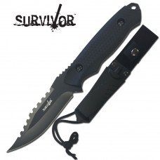 "Survivor 8"" Fixed Blade Knife with Sheath"
