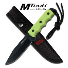"8"" Full Tang Blade with Nylon Fiber Handle and Lanyard"
