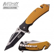 Two Toned – Open Spring Assist Folding Knife by MTech USA