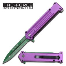 """TAC-Force """"Why So Serious?"""" Folding Knife"""