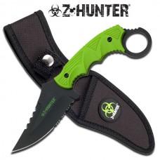 "☣ Z HUNTER 9"" Fixed Blade Karambit Knife"