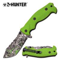 "Z ☣ HUNTER - 9"" Zombie Print Knife"