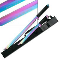 2pc Rainbow Twin Ninja Swords