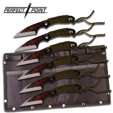 7pc Throwing Knife Set