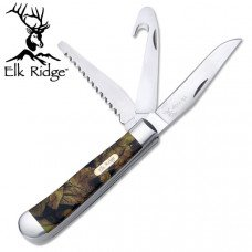 3-Blade Camo Pocket Knife
