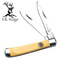 Folding 2 Bladed Trapper Gentleman's Knife