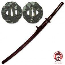 41 Inch Sakura Hand Forged Samurai Sword
