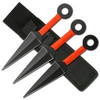 3 Piece Ninja Throwing Knife Set