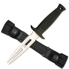 Fixed Blade Knife with Nylon Sheath