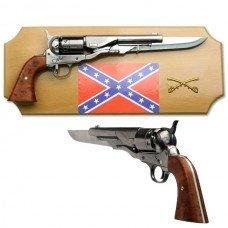 Civil War Gun Knife with Plaque