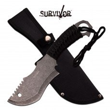 "10 ½""  Heavy Duty Outdoor Survivor Knife by Survivor"
