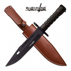 "SURVIVOR Series 12 ¾"" Fixed Blade Knife"