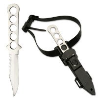 All Stainless Steel - Divers Knife