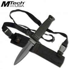 Double - Half Serrated - Edged Blade  - by MTech USA