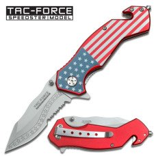 "TAC-Force ""Stars and Stripes"" Folding Knife"