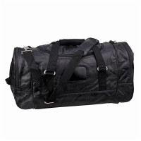 21 Inch Genuine Leather Duffle Bag